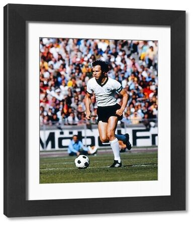 Football - International Friendly - West Germany vs. Brazil Franz Beckenbauer of West Germany in action in Berlin