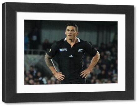 Rugby Union - 2011 Rugby World Cup - New Zealand v Tonga Sonny bill Wlliams (NZ)  Credit : Colorsport / Andrew Cowie