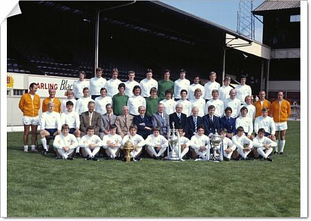 Football - 1972 Derby County Summer Photocall Derby County Team Group, 1971 / 1972 League Division One Champions