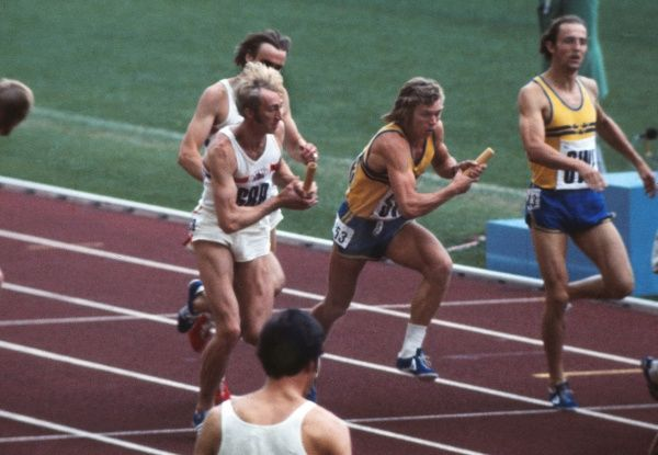1972 Munich Olympics - Men's 4x400m Relay