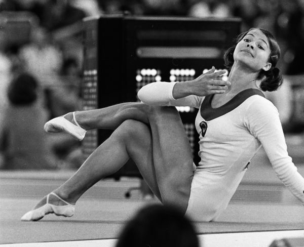 Gymnastics - 1972 Munich Olympics - Women's Individual All-Around The gold medal winner, USSR's Lyudmila Turishcheva