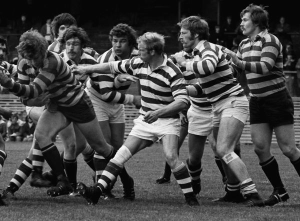Rugby Union - 1976 John Player Cup Final - Gosforth 23 Rosslyn Park 14 Gosforth's Colin 'Chalky' White during the game at Twickenham