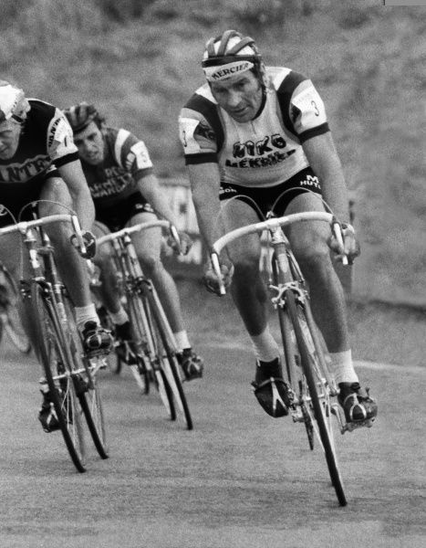 Road Cycling - 1977 Glenryck Cup Professional Criterium - Eastway Cycle Circuit France's 41 year-old Raymond Poulidor at Lee Valley Park, East London (later site of the Olympic VeloPark)