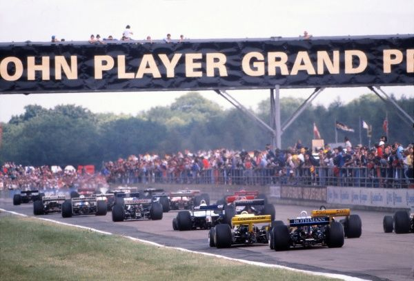 Motor Racing/Formula 1 1981 British Grand Prix Silverstone
