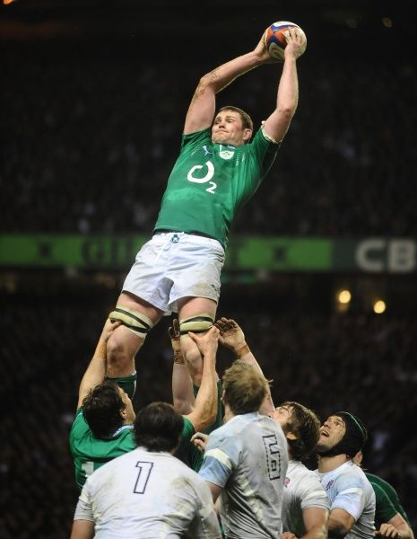Rugby Union - Six Nations Championship - England vs. Ireland Donnacha Ryan - Ireland