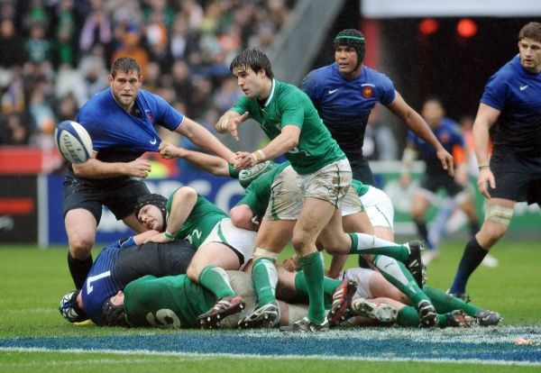 Rugby Union - 2012 Six Nations Championship - France vs. Ireland  Conor Murray - Ireland