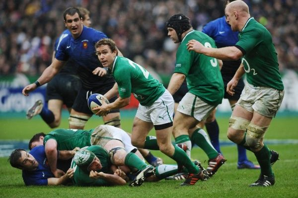Rugby Union - 2012 Six Nations Championship - France vs. Ireland  Eion Reddan - Ireland