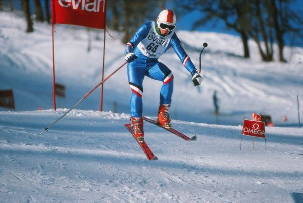Alan Stewart - 1976 FIS World Cup - Val d'Isere