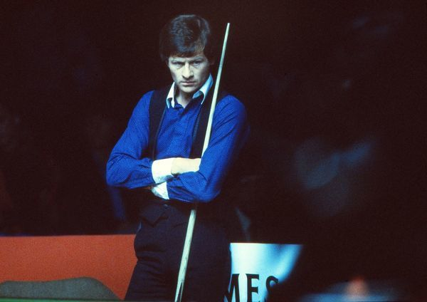 Alex Higgins  Jameson Snooker International Open Championship 1981 Assembly Rooms, Derby Credit : Colorsport / Stewart Fraser