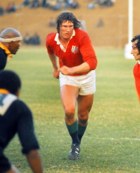Rugby Union - 1974 British Lions tour to South Africa - SA Africans (Leopards) 10 British Lions 56 (9/7/74) Andy Ripley of the British Lions during the game in East London
