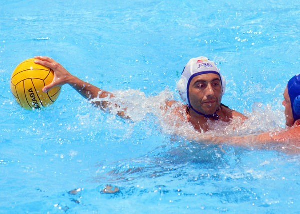 Atlanta Olympic games 1996 - Mens Water Polo -   Spain v Yugoslavia