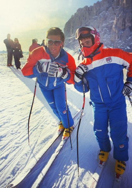 Skiing : Mens Dec 1986 Martin and Graham Bell - GBR