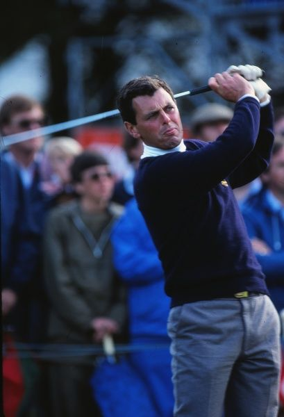 Golf - 1981 Ryder Cup - Walton Heath Europe's Bernard Gallacher. The USA won the competition by a score of 18.5 points to 9.5. It remains the heaviest defeat that a European team has suffered in the Ryder Cup