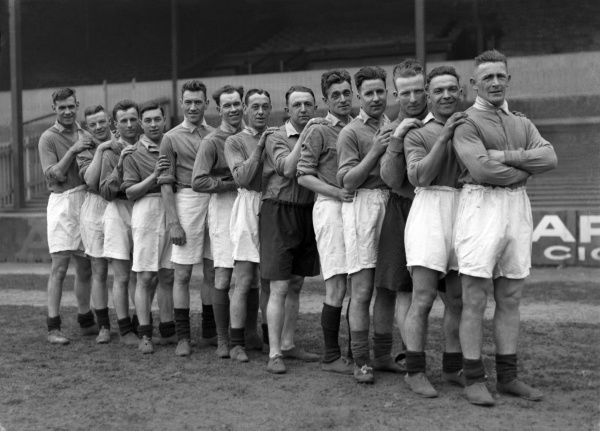 Football - 1930 / 1931 season - Birmingham City Team Group The Birmingham City team that lost the 1931 FA Cup Final to rivals West Bromwich Albion 2-1 at Wembley on 25/4/31