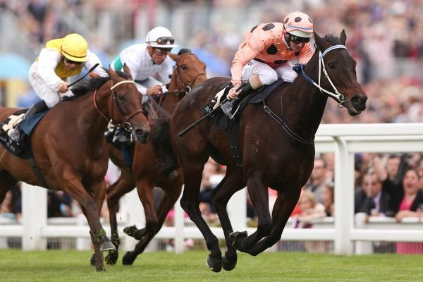 Horse Racing - Royal Ascot 2012 - Final Day Black Caviar, ridden by Luke Nolan, wins the Diamond Jubilee Stakes by a nose at Royal Ascot 2012