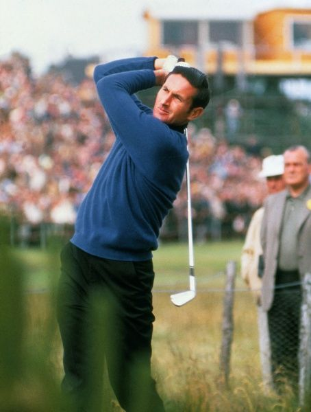 Golf - 1968 Open Championship - Carnoustie Golf Links New Zealand's Bob Charles. He went on to finish in a tie for second place