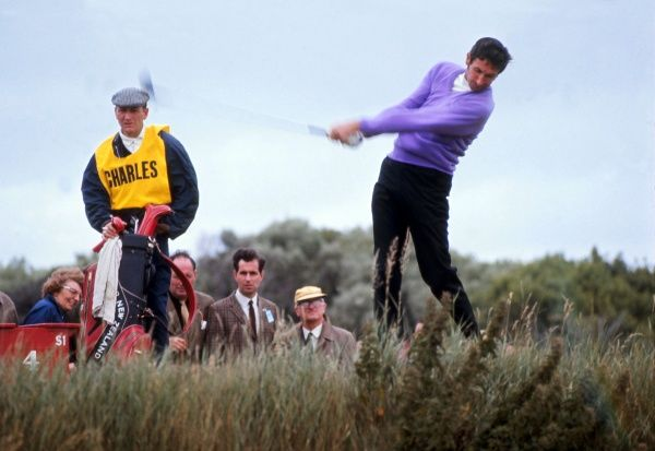 Golf - 1969 Open Golf Championship - Royal Lytham & St Annes Golf Club New Zealand's Bob Charles. He went on to finish in second place