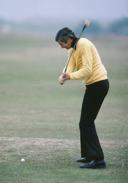 Golf - 1978 Open Championship - St Andrews New Zealand's Bob Charles