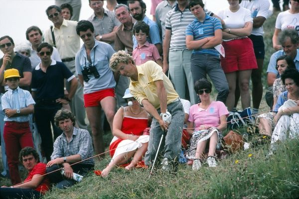 Bobby Clampett (USA). British Open Golf Championships 1983 @ Royal Birkdale Credit : Colorsport