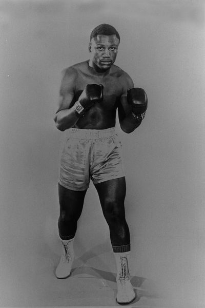 + Boxing - Studio Shoot. Heavyweight boxer Joe Frazier of USA