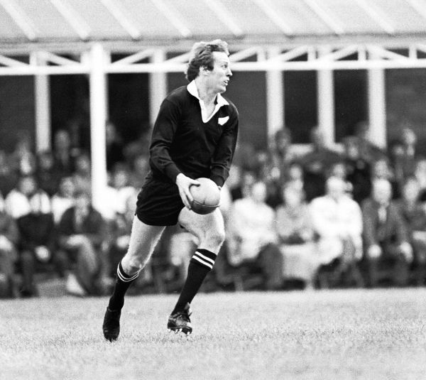 Rugby Union - 1978 New Zealand Tour of British Isles - Cambridge University 12 New Zealand 32 New Zealand's Bruce Robertson at Grange Road, Cambridge