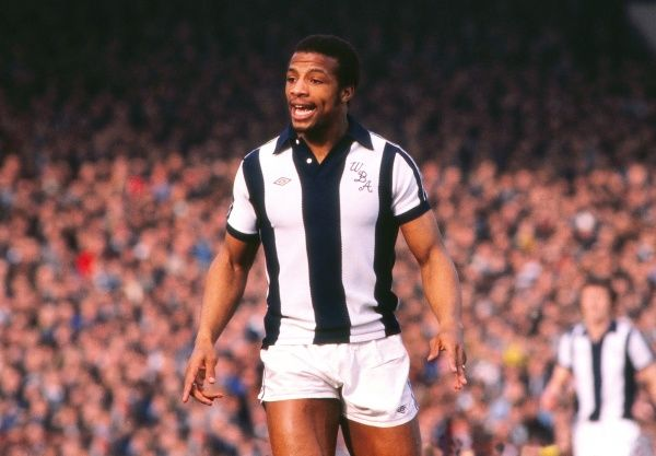 Football - 1977 / 1978 FA Cup - Sixth Round: West Bromwich Albion 2 Nottingham Forest 0  West Brom's Cyrille Regis at The Hawthorns. 11/03/1978
