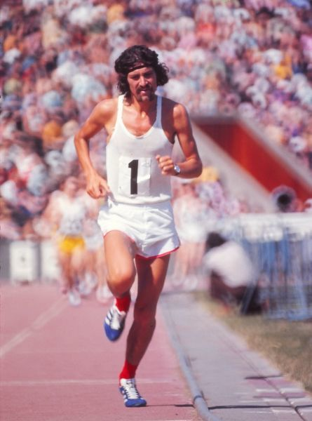 Athletics - Crystal Palace Dave Bedford of England