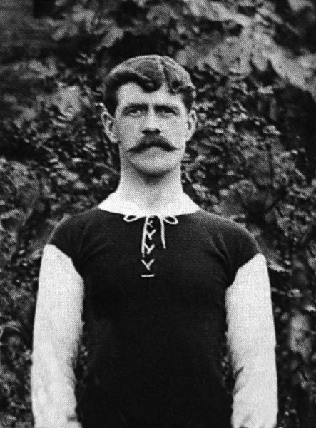David Richmond (Dave) Gardner. West Ham United 1905 / 06 season. 01/08/1905 Credit : Colorsport