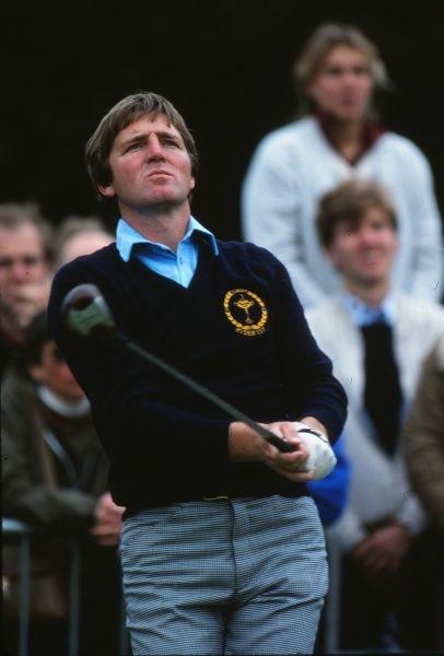 Golf - 1981 Ryder Cup - Walton Heath Europe's Des Smyth. The USA won the competition by a score of 18.5 points to 9.5. It remains the heaviest defeat that a European team has suffered in the Ryder Cup