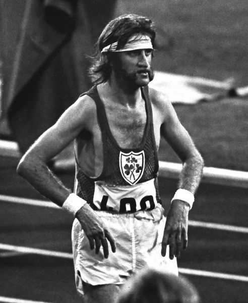 Athletics - 1972 Munich Olympics - Men's Marathon Ireland's Donie Walsh after finishing the race 47th place in the Olympiastadion, Munich, West Germany