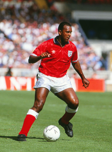 Football - 1991 / 1992 England 1 Brazil 1 Friendly match     David Rocastle of England at Wembley     17/05/1992