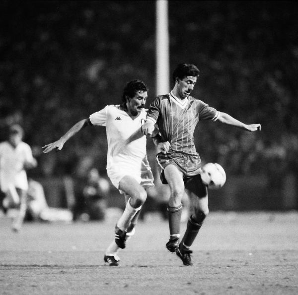 Football - 1984 European Cup Final - Liverpool 1* Roma 1 (*won 4-2 on pen a.e.t.)   Liverpool's Ian Rush, at the Stadio Olimpico, Rome.   30/05/1984