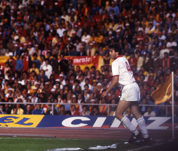 Football - 1984 European Cup Final - Liverpool 1* Roma 1 (*won 4-2 on pen a.e.t.)     Roma's Ubaldo Righetti, at the Stadio Olimpico, Rome.     30/05/1984