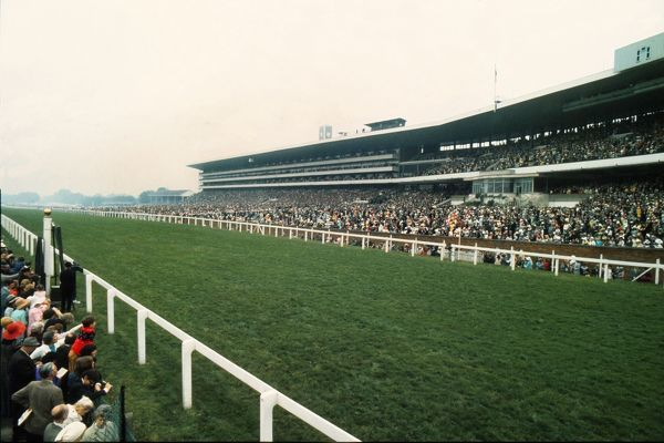 Horse racing : The finishing straight and Grand stand Royal Ascot 21/06/1973 Credit : Colorsport