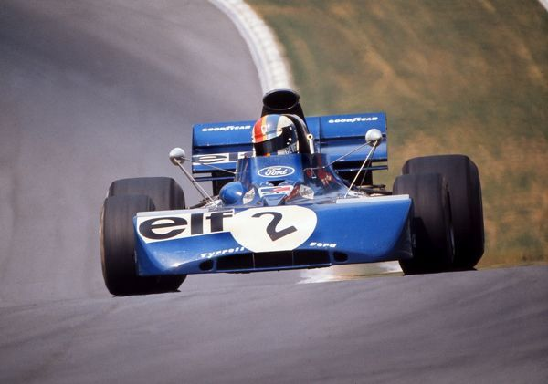 Motorsport - 1972 Formula One World Championships - British Grand Prix Francois Cevert of France driving his Tyrrell Ford at Brands Hatch.  He retired from the race after he spun off after 60 laps
