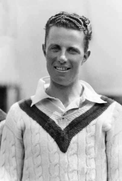 Cricket - 1931 season Lancashire's Frank Sibbles. He made 308 first-class appearances for the county between 1925 and 1937, taking 932 wickets