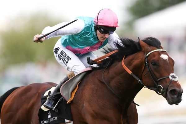 Horse Racing - 2012 Royal Ascot - Frankel ridden by Tom Queally out in front at 2012 Royal Ascot