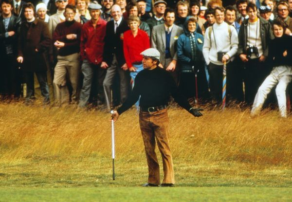 Gary Player 1974 Open Championship, Royal Lytham & St Annes Golf Club. Player won the tournament by 4 strokes