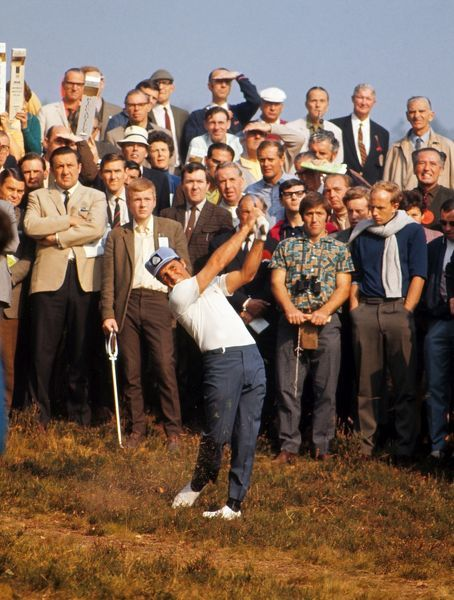 Gary Player 1969 Piccadilly World Match Play Championship Wentworth