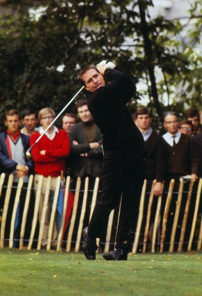 Gary Player 1968 Piccadilly World Match Play Championship, Wentworth. Defeated Bob Charles (NZ) to win the event