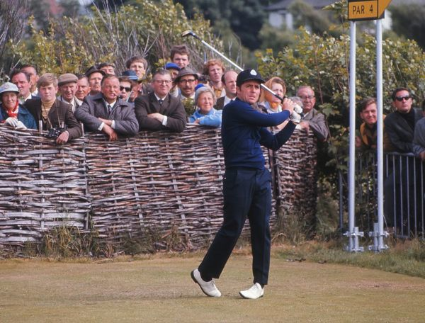 Gary Player 1969 Open Championship Royal Lytham & St Annes Golf Club