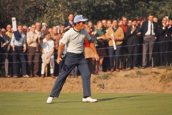 Gary Player (South Africa) 1969 Piccadilly World match play Championship  Wentworth Credit : Colorsport