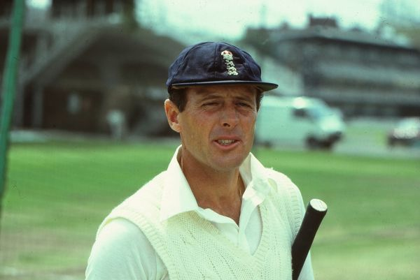 Cricket -  Geoff Boycott of England