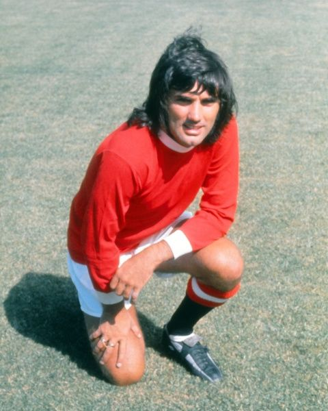 Football - English Division One - Manchester United Photocall George Best of Man Utd