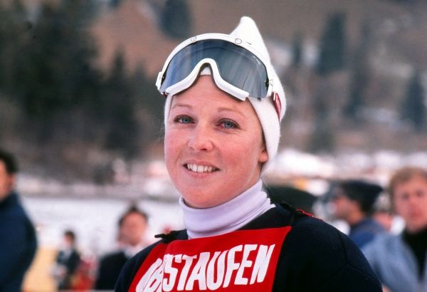 Gina Hathorn - 1972 FIS World Cup - Oberstaufen