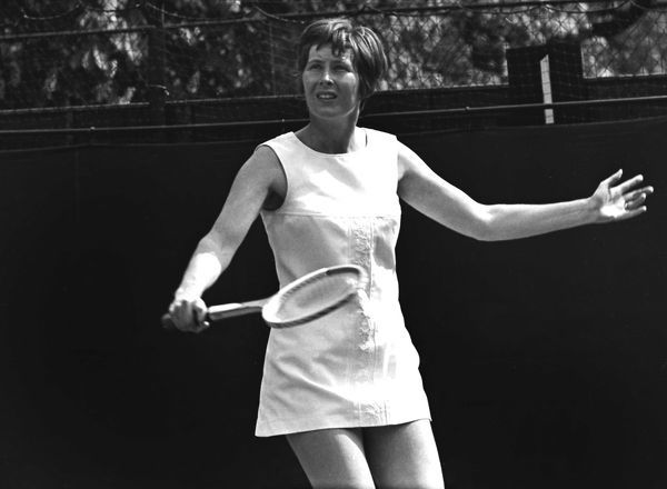 Tennis - 1968 Hurlingham Club Great Britain's Christine Truman Janes