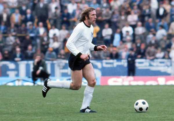 Gunter Netzer On The Ball In The Final Of Euro 72