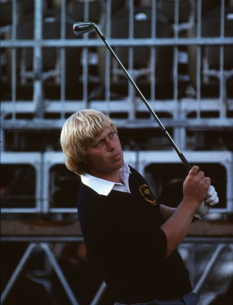 Golf - 1981 Ryder Cup - Walton Heath Europe's Howard Clarke. The USA won the competition by a score of 18.5 points to 9.5. It remains the heaviest defeat that a European team has suffered in the Ryder Cup