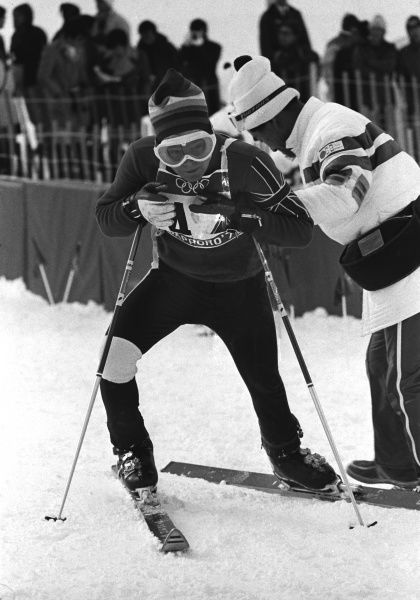 Alpine Skking - 1972 Sapporo Winter Olympics - Men's Giant Slalom Great Britain's Iain Finlayson at Mount Seine, Japan