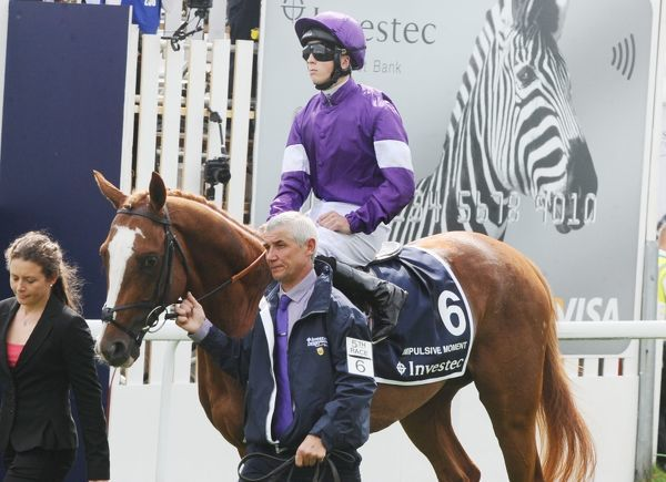 Horse Racing - 2014 Investec Epsom Derby Festival - Derby Day Jockey David Probert on Impulsive Moment, which ran in the Derby